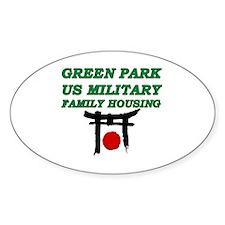 Green Park Japan Decal