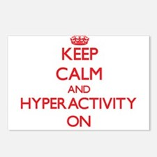 Keep Calm and Hyperactivi Postcards (Package of 8)
