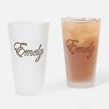Gold Emely Drinking Glass