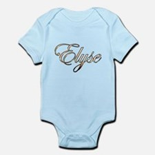 Gold Elyse Body Suit