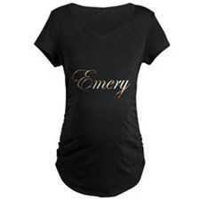 Gold Emery Maternity T-Shirt