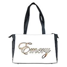 Gold Emery Diaper Bag