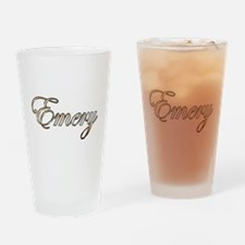 Gold Emery Drinking Glass