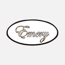 Gold Emery Patch