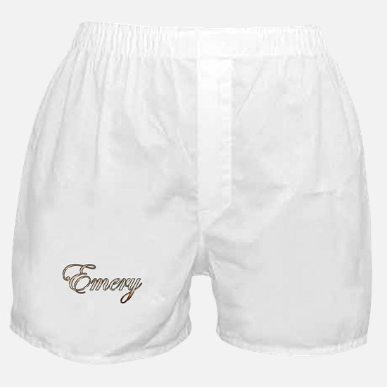 Gold Emery Boxer Shorts