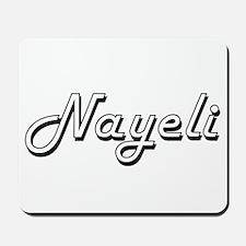 Nayeli Classic Retro Name Design Mousepad