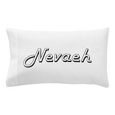 Nevaeh Classic Retro Name Design Pillow Case