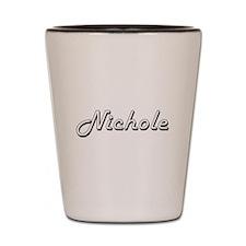 Nichole Classic Retro Name Design Shot Glass