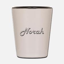 Norah Classic Retro Name Design Shot Glass