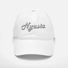 Nyasia Classic Retro Name Design Baseball Baseball Cap