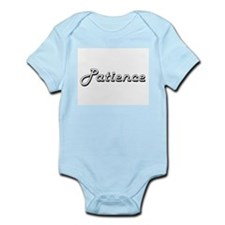 Patience Classic Retro Name Design Body Suit