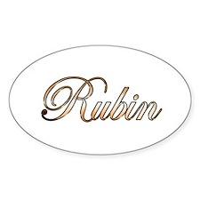 Gold Rubin Decal