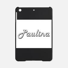 Paulina Classic Retro Name Design iPad Mini Case