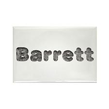 Barrett Wolf Rectangle Magnet