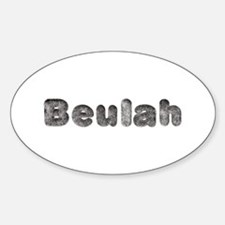 Beulah Wolf Oval Decal