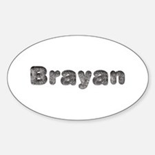 Brayan Wolf Oval Decal