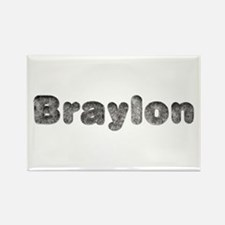 Braylon Wolf Rectangle Magnet