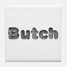 Butch Wolf Tile Coaster