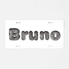 Bruno Wolf Aluminum License Plate