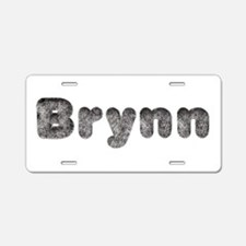 Brynn Wolf Aluminum License Plate