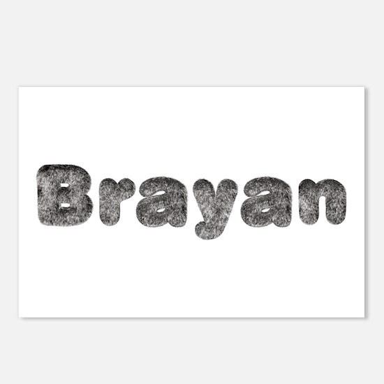 Brayan Wolf Postcards 8 Pack