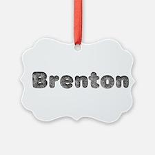 Brenton Wolf Ornament