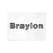 Braylon Wolf 5'x7' Area Rug