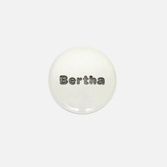 Bertha Wolf Mini Button
