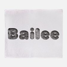Bailee Wolf Throw Blanket