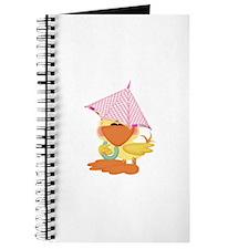 Baby Girl Ducky Doo Umbrella Journal