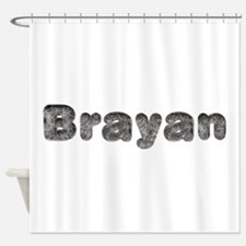 Brayan Wolf Shower Curtain