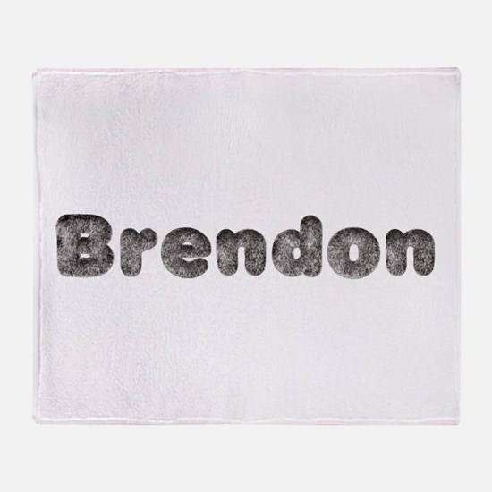 Brendon Wolf Throw Blanket