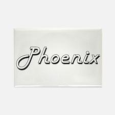 Phoenix Classic Retro Name Design Magnets