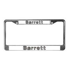 Barrett Wolf License Plate Frame