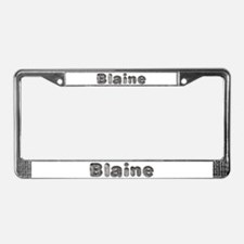 Blaine Wolf License Plate Frame