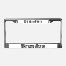 Brendon Wolf License Plate Frame