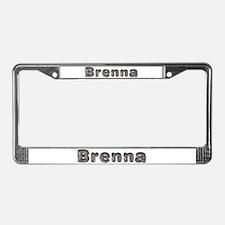 Brenna Wolf License Plate Frame
