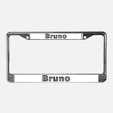 Bruno Wolf License Plate Frame