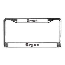 Brynn Wolf License Plate Frame