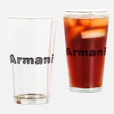 Armani Wolf Drinking Glass