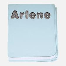 Arlene Wolf baby blanket