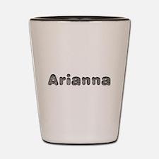 Arianna Wolf Shot Glass