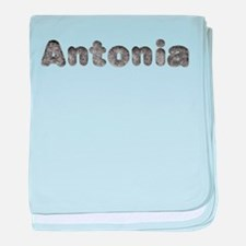 Antonia Wolf baby blanket