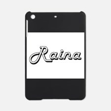 Raina Classic Retro Name Design iPad Mini Case