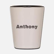 Anthony Wolf Shot Glass