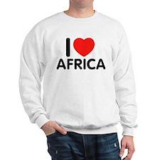 I Love Africa Sweatshirt