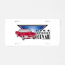 1966 Chevrolet Corvair Aluminum License Plate