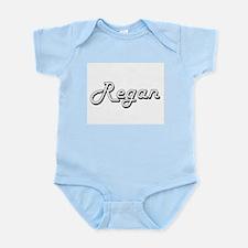 Regan Classic Retro Name Design Body Suit