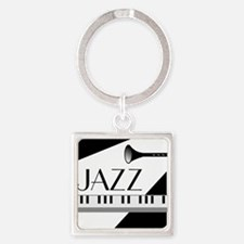 Love For Jazz - Square Keychain