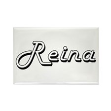 Reina Classic Retro Name Design Magnets
